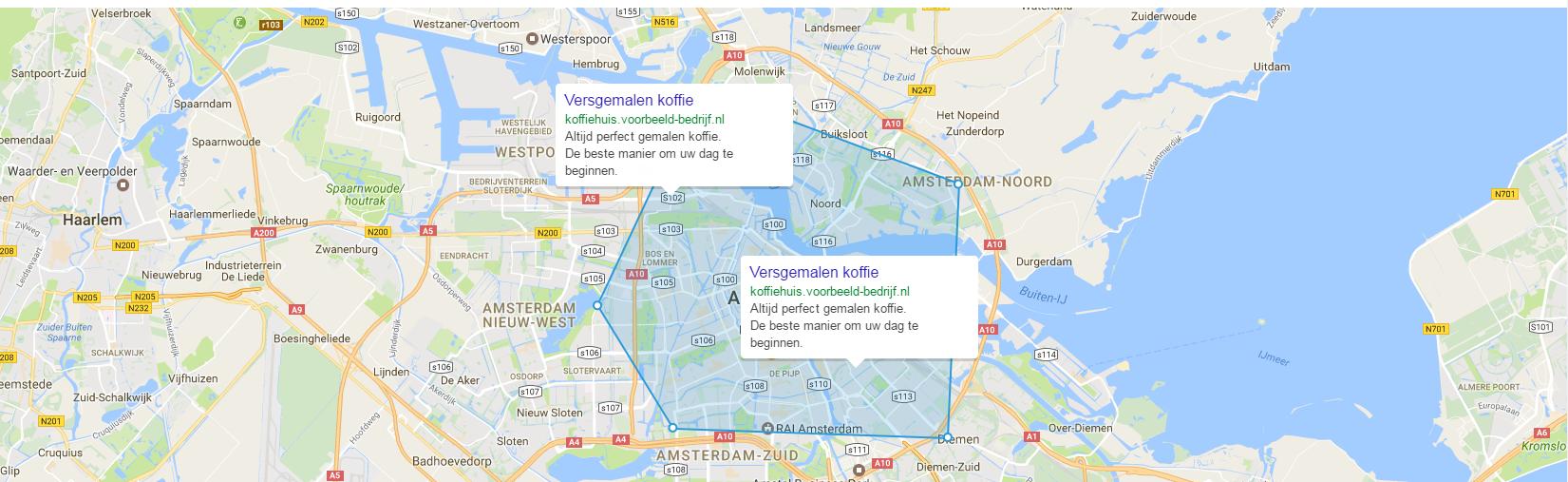 Google AdWords Voorbeeld