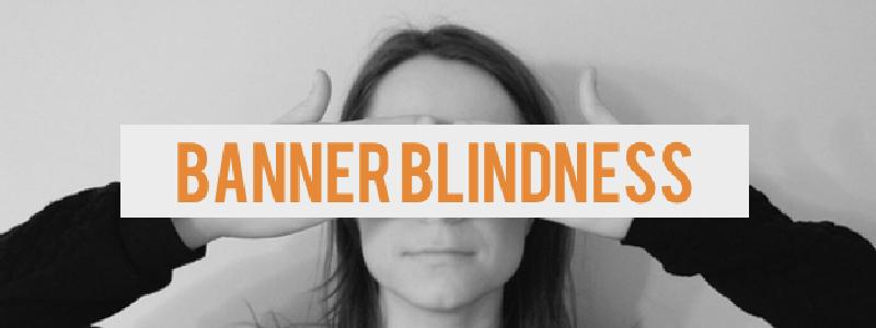 Banner blindheid