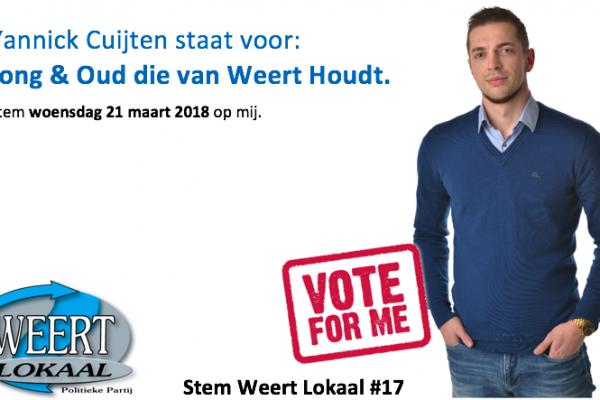 Gemeenteraadsverkiezingen Weert 2018